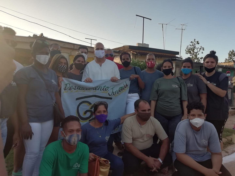 Coordinador Nacional constata labor de organización cederista en Quivicán y Bejucal.