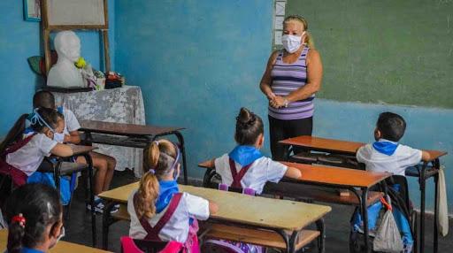 Las actividades docente-educativas se reanudan en el municipio de San Nicolás. Foto: Archivo.