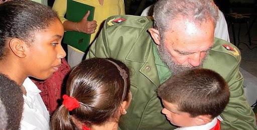 Fidel y los niños (+ Audio)