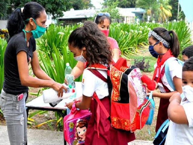 No reportan contagios con la COVID 19 centros educacionales de Güines.