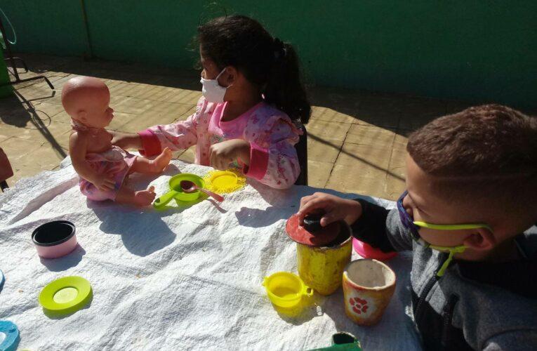 Activo círculo infantil de Batabanó en medio de la Covid-19