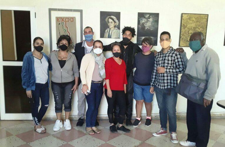 Inauguran exposición Reencuentro en Casa de Cultura de Surgidero de Batabanó