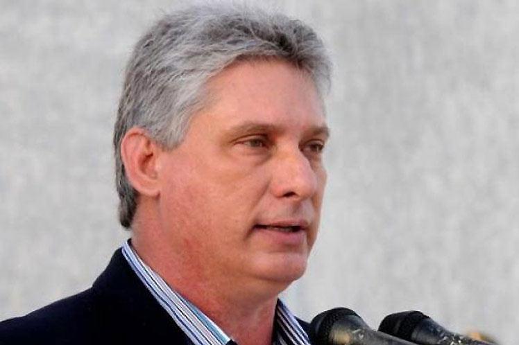 Participará presidente de Cuba en Cumbre virtual de ALBA-TCP