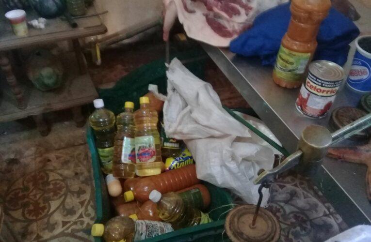 Desarticulan casa-almacén vinculada a venta ilícita de productos agropecuarios en Güines (Audio y fotos)