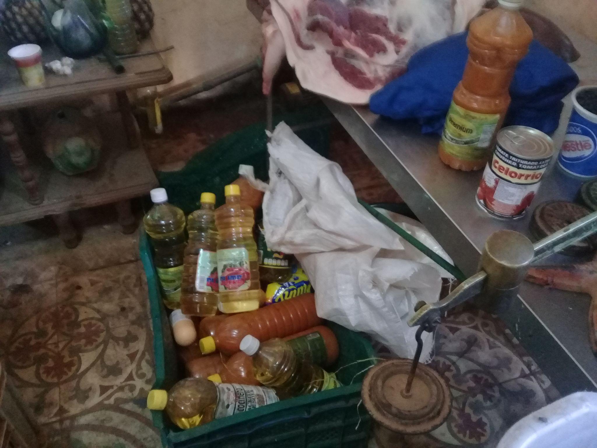 De manera ilegal se almacenaban productos agropecuarios y provenientes de la venta en divisas.