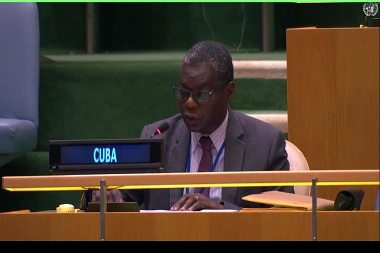 Nuevo rechazo de Cuba al bloqueo de Estados Unidos.