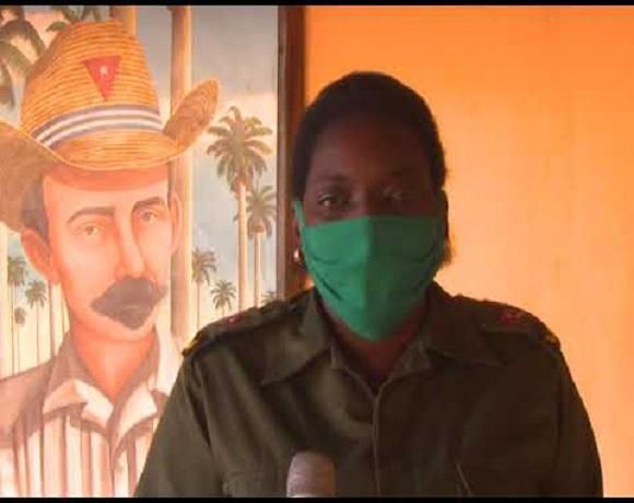 Primera Secretaria del Partido Comunista de Cuba en Mayabeque Yanina de la Nuez Aclich