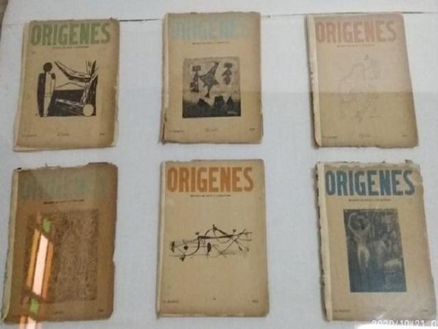Exhiben colección de la Revista Orígenes en museo de Nueva Paz.