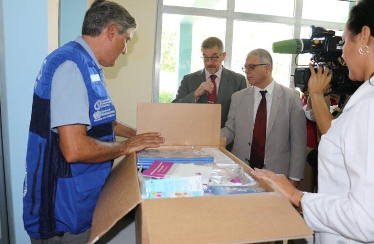Entregan a escuelas en Cuba donativo de la OPS/OMS
