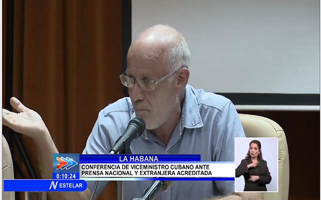 Vice Ministro de Cultura Fernando Rojas