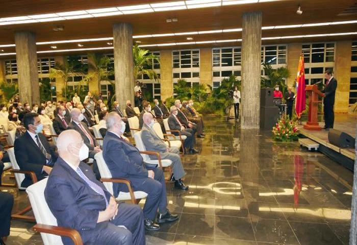 Cuba y China celebran 60 años de relaciones diplomáticas.