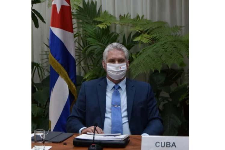 Presidente de Cuba participará en Cumbre de Ambición Climática