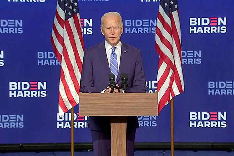 Colegio electoral de Estados Unidos confirma victoria de Biden.