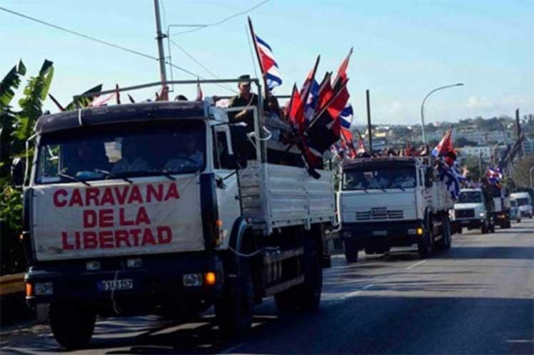 Finaliza hoy en Cuba reedición de Caravana de la Libertad