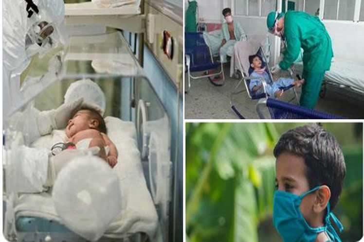 Aumenta en Mayabeque los casos positivos a la Covid-19 en lactantes y niños.