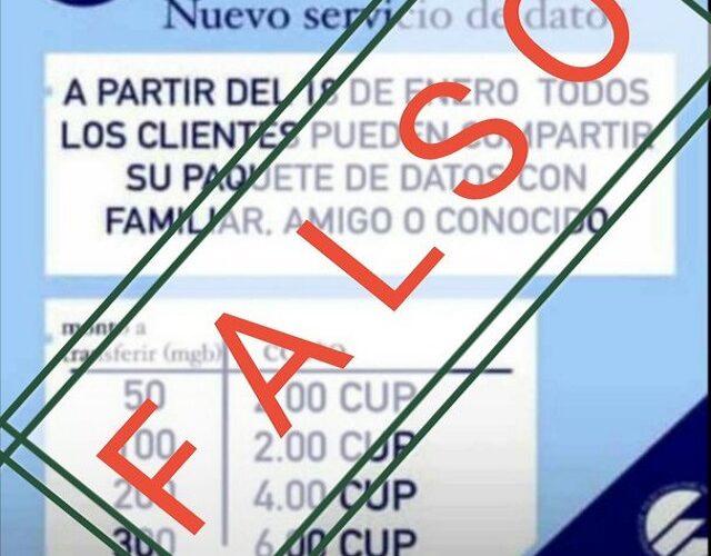Etecsa alerta sobre promociones falsas de sus servicios