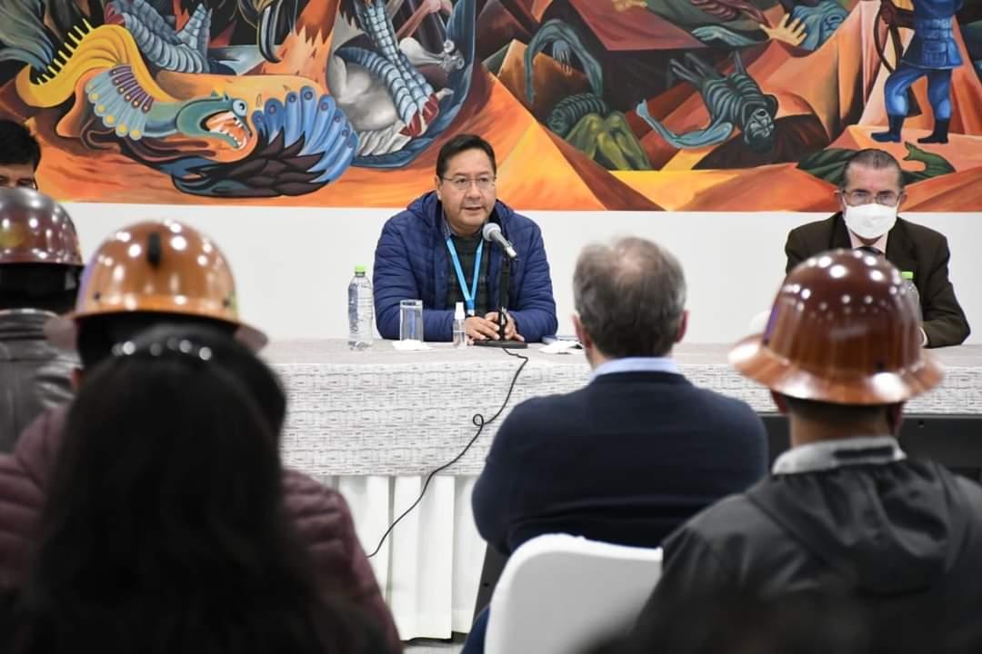 Gobierno de Bolivia y organizaciones sociales aliados contra la Covid-19.