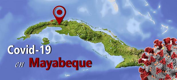 Mayabeque reporta 4 nuevos casos de Covid-19.