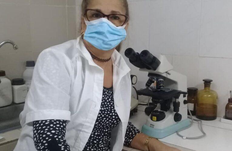 Valentía y profesionalidad, cualidades de Iris Jaqueline Riso Fuentes