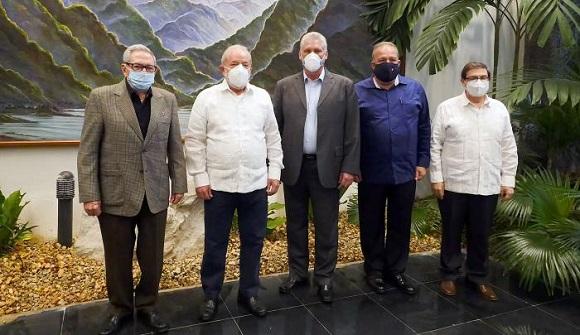 Sostienen Raúl y Díaz-Canel encuentro con Lula