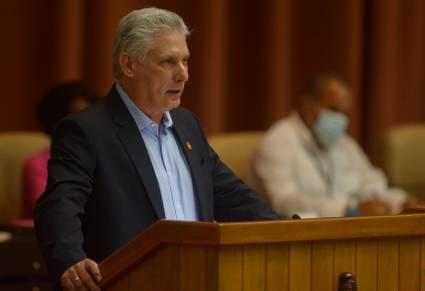 President of Cuba Exalts People's Resistance against Subversion