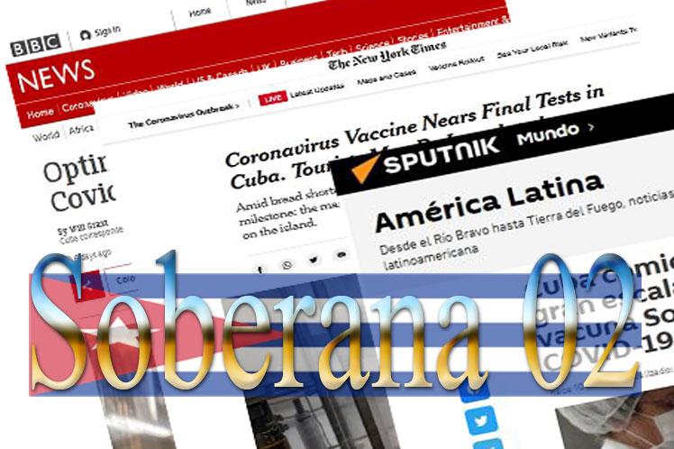 Cuba: Vacuna Soberana 02 es tendencia mundial