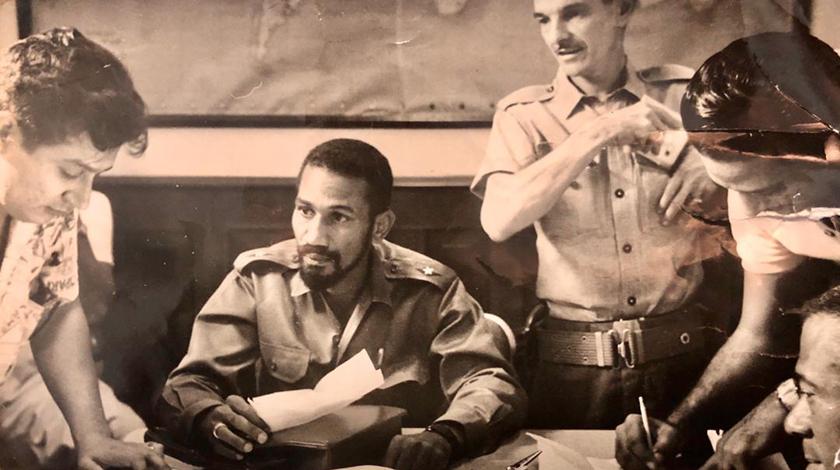 Juan Almeida And The Art Radio Mayabeque