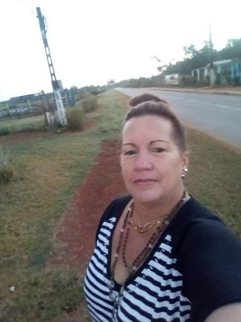 Amarilis Arteaga Abreu. Directora de la Unidad Empresarial de Base de Servicios Comunales, en Melena del Sur.