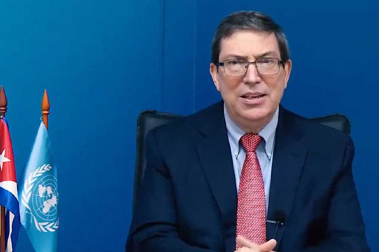 Canciller de Cuba interviene ante Consejo de Derechos Humanos