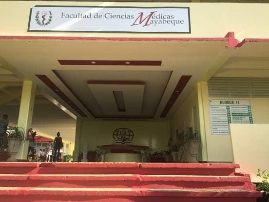 Centro de aislamiento ubicado en la Facultad de Ciencias Médicas de Mayabeque, ubicada en Güines.