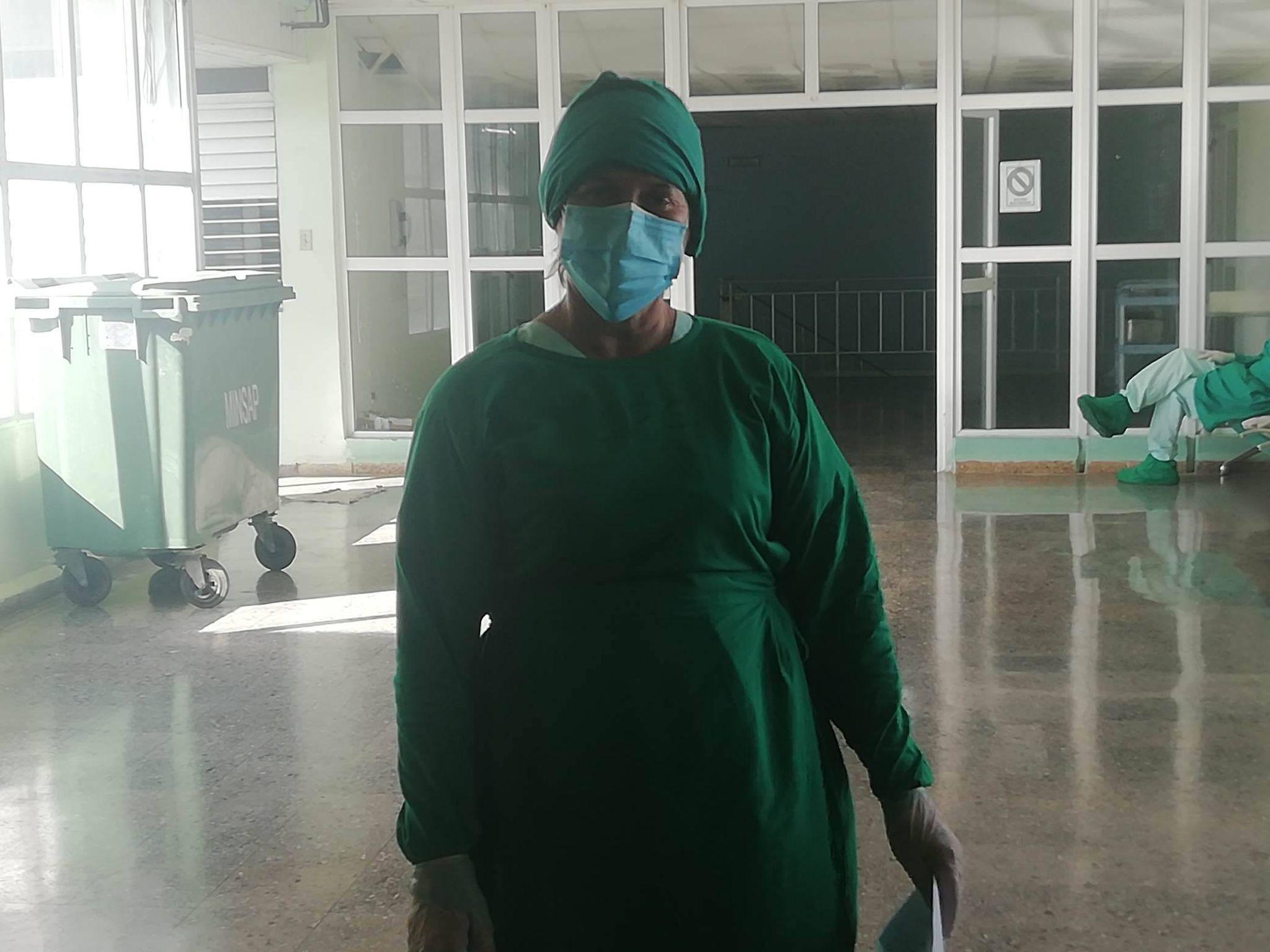 Especialista en pediatría, Doctora Olga López Leyva