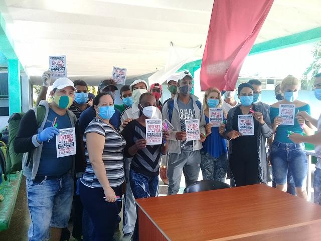 Merecido reconocimiento a jóvenes que participaron de la prevención y control de la Covid-19.
