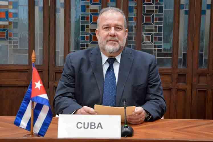 Cuba denuncia impacto del bloqueo de Estados Unidos en foro euroasiático