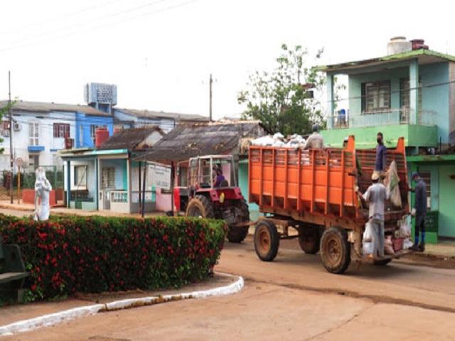 Trabajadores de Servicios Comunales frente a la pandemia.