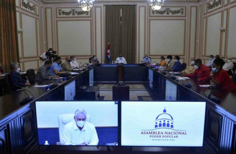 Sesionó el Consejo de Estado de la República de Cuba