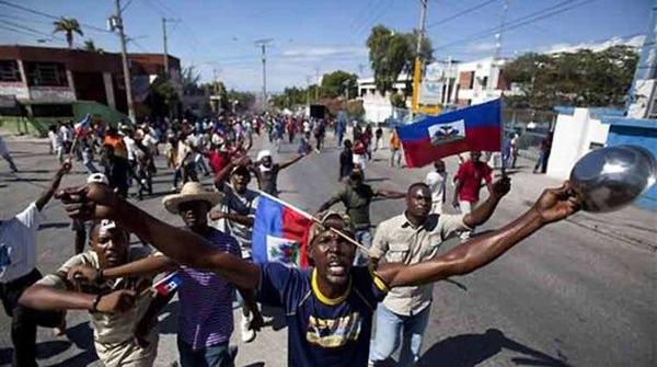 Haitianos se movilizan otra vez. Foto: Radio Habana Cuba