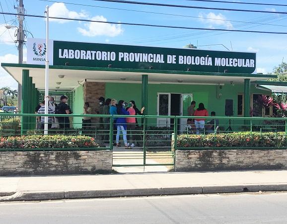 Molecular Biology Laboratory in Mayabeque.