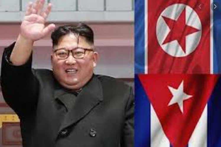 Presidente coreano reiteró apoyo a Cuba.