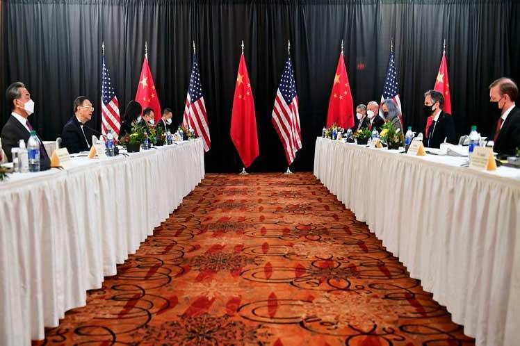 Primer intercambio gubernamental Rusia-China tras toma presidencia de Baiden