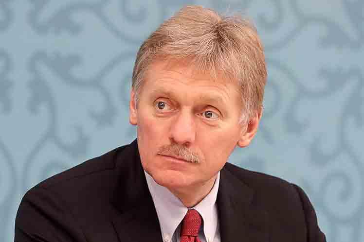 Portavoz del Kremlin, Dmitri Peskov Foto: Prensa Latina