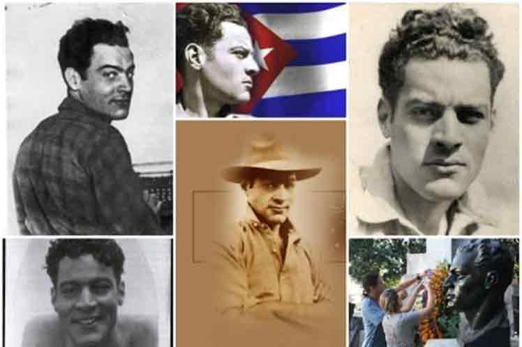 Aniversario 118 del natalicio de Julio Antonio Mella. Foto: Prensa Latina