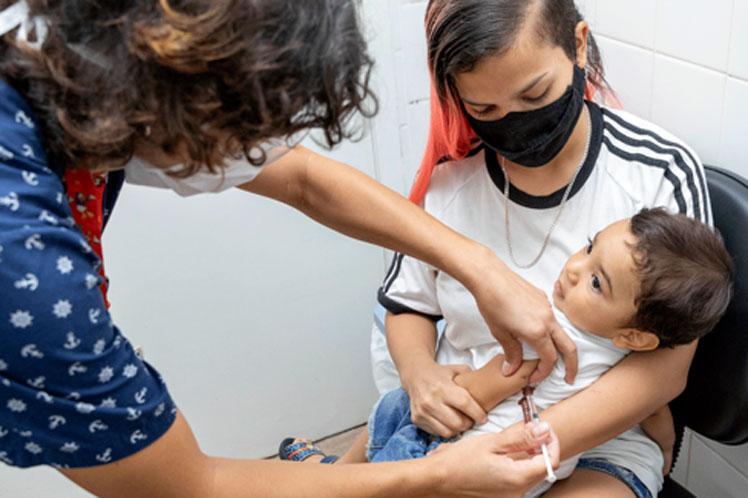Semana Mundial de la Inmunización centrada en vacunas antiCovid-19
