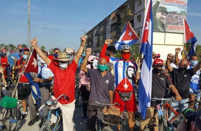 Bloqueo yanqui se sacude con el empuje de los cubanos