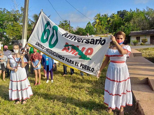 San Nicolás recibió bandera 60 aniversario de organización campesina (+ Audio)