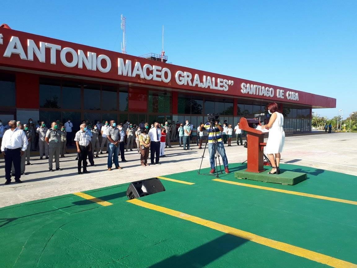 Mercenary bombing of the Santiago airport is commemorated.