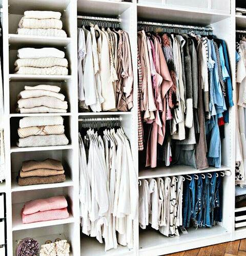 Consejos para tener un armario perfectamente organizado