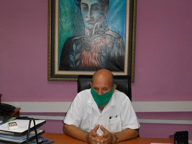 Director provincial de Salud Pública, Luis Armando Wong Corrales.