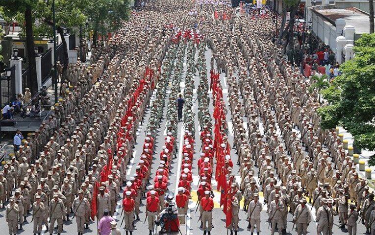 Conmemora Venezuela aniversario de la Milicia Nacional