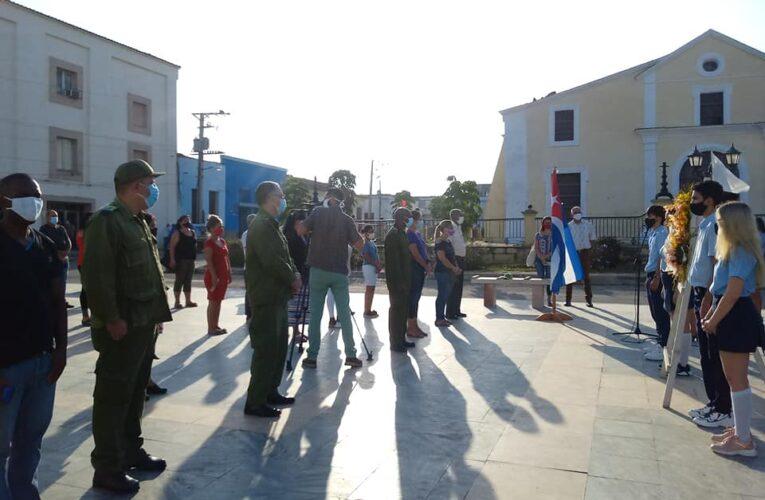 Conmemoran aniversario 123 de caída en combate de patriota insigne de Mayabeque (+Audio, Galería)