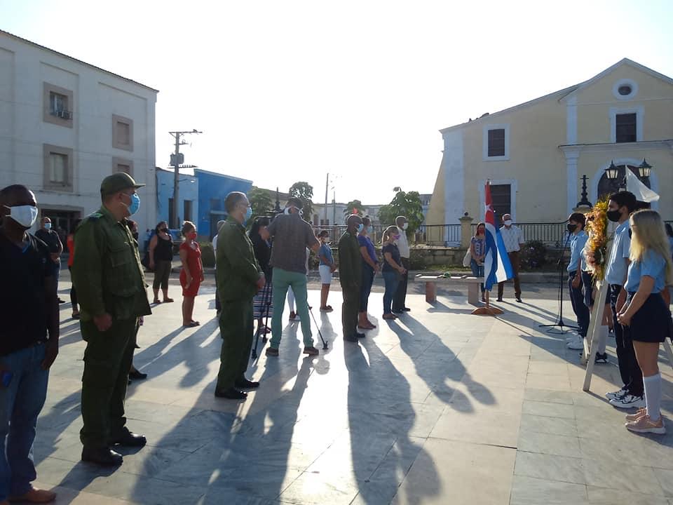 Homenaje al patriota insigne de Mayabeque.